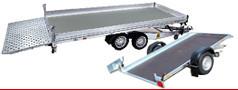 Multitransporter kippbare Ladefläche