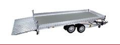 Multitransporter kippbare Ladefläche, 2-achser