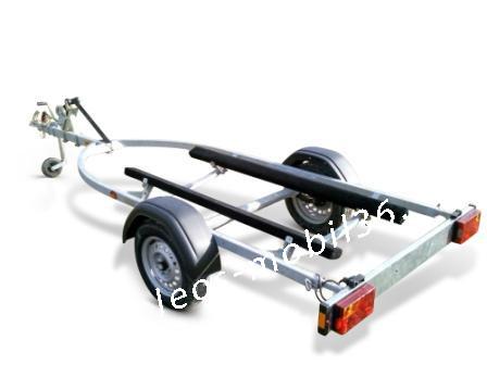 Brenderup Jetskianhänger 750kg Modell 8515 ungebremst bis 4.30 Länge 15 Fuß mit Gurtseilwinde