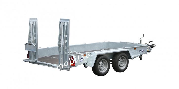 Variant 3516 B3 Baggeranhänger 3.00x1.62 Blattfedern Parabelfeder 2907 kg Zuladung 3500 kg Baumaschinen Minibagger Maschinentransporter