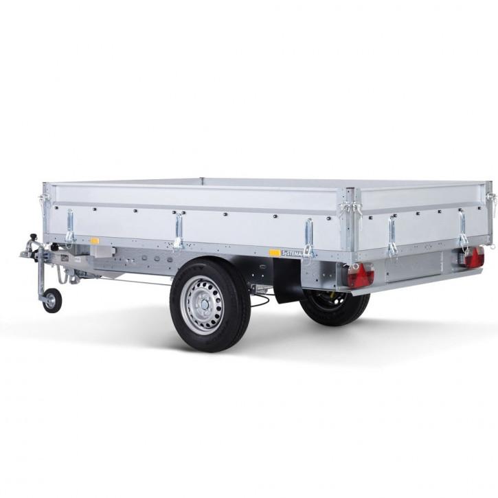 Stema SHP 02 13-25-15.1 Hochlader Überlader 1300kg 2.51 x 1.53 Stahl-Bordwände