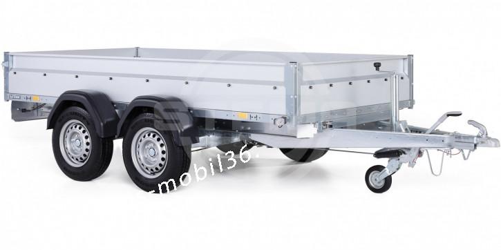 STEMA PKW Anhänger STL 2000 O2 20-30-15.2 3.01x 1.53 Tandem Tieflader 2000 kg Stahl-Bordwände