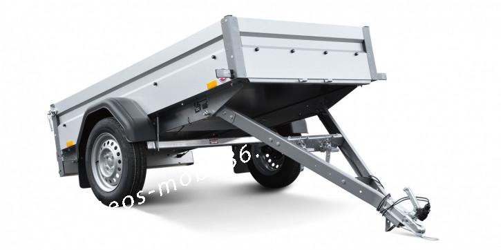 Stema FT 7.5-20-10.1 B mit Kippdeichsel Kasten 2.01x1.08x0.33 750 kg PKW-Anhänger ungebremst