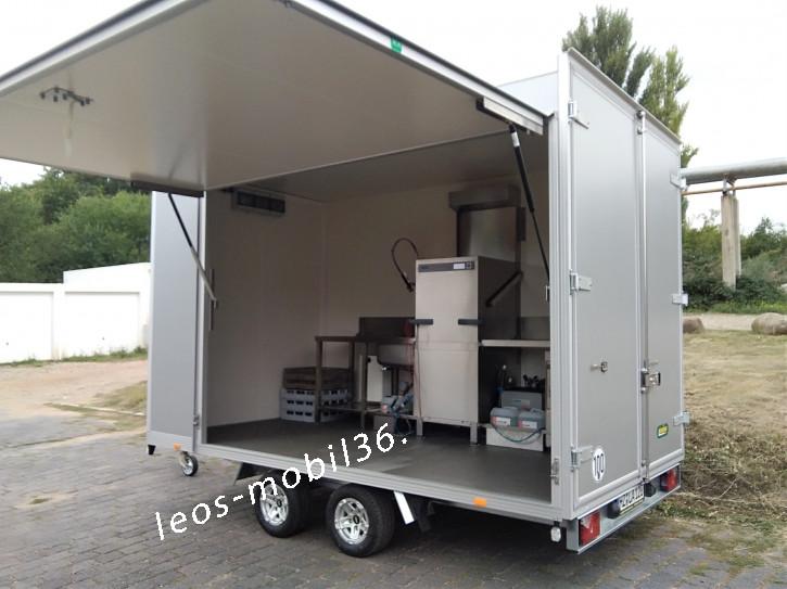 Spülanhänger Geschirrspülmobil Spülmobil Spülcontainer mobile Spülküche zu Verkaufen zu Vermieten