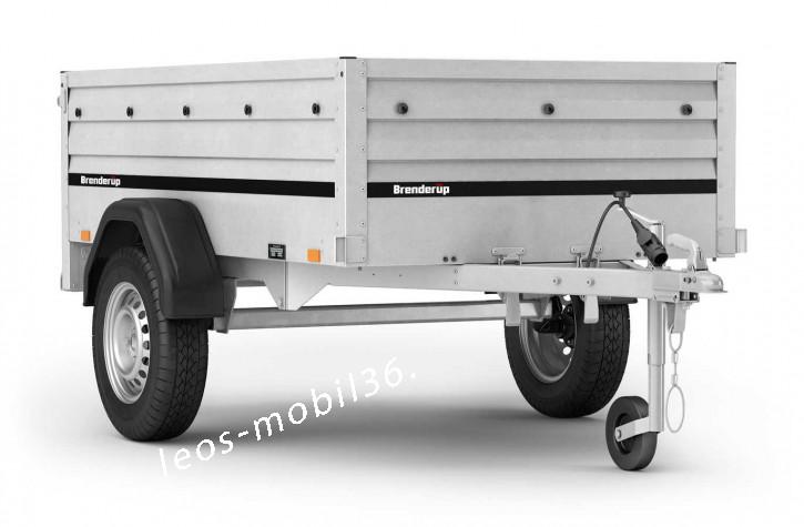 Brenderup 1205 S XL UB 750 (Kippi 200) 2.03 x 1.16 x 0.55  750kg STAHL kippbar hohe Bordwände