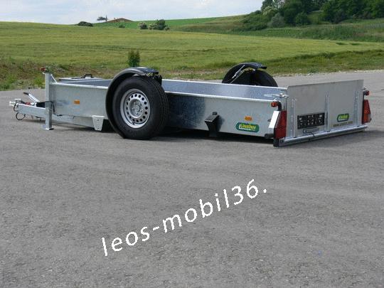 Unsinn GAS/GTAS  1825-14-1500 1-achser 1800kg Absenkanhänger Senklift 2,56 x 1,50