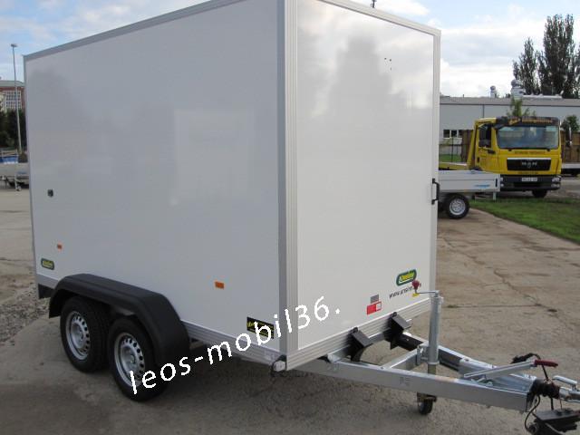 Leos Anhänger LFK 2630 2600kg mit 100 km/h Zulassung Lichtdach 3.05x1.57x1.94 Fahrschulanhänger Fahrschule