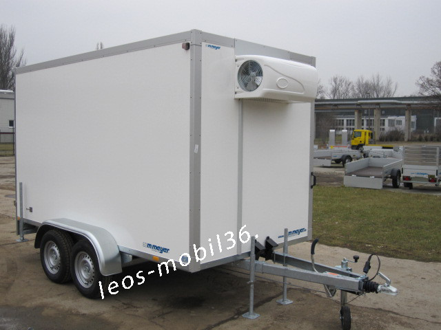 WM Meyer AZKF 2730/155 Kühlung (+2°C bis +10°C) 2,95x1,54 inkl.Kühlaggregat 2700 kg Kühlanhänger Kühlkoffer PKW Anhänger (Fahrkühlung möglich) Kühler