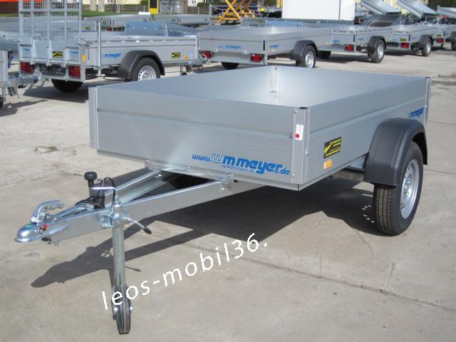 WM Meyer HZ 7525/126 inkl.Stützrad 2.50x1.26 750 kg ungebremst