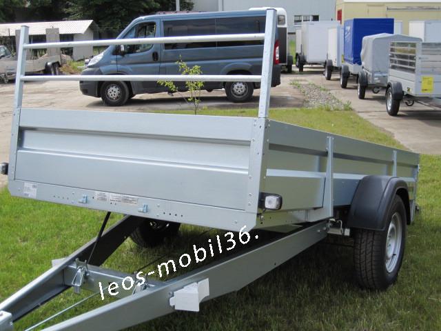 Brenderup 2300 S Kipper Kippbare Ladefläche 1300kg 3,00x1,53 STAHLBLECH Bordwände