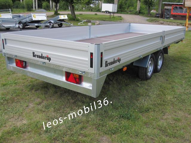 Brenderup 5420 ALU Hochlader 2500 kg 4,17 x 2,03