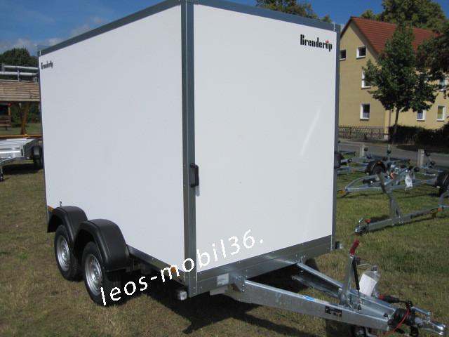 Brenderup 7350 TBD Koffer Lichtdach 2500 kg 3.50 x 1.53 x 1.85