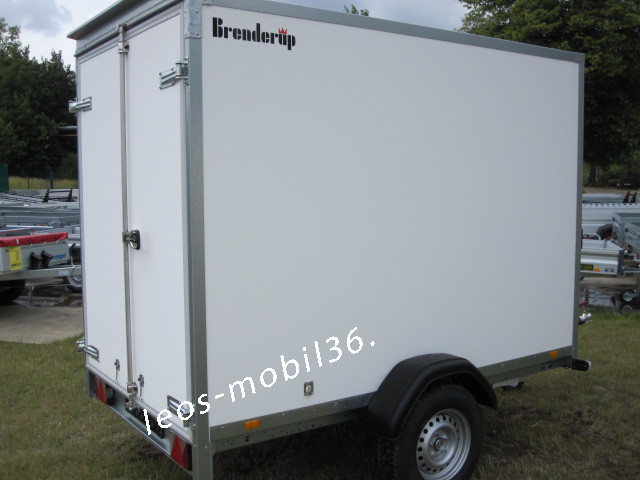 Brenderup 7260 B 1300kg L/B/H 2.60 x 1.53 x 150 Wände Plywood Isoliertes Lichtdurchlässiges Dach