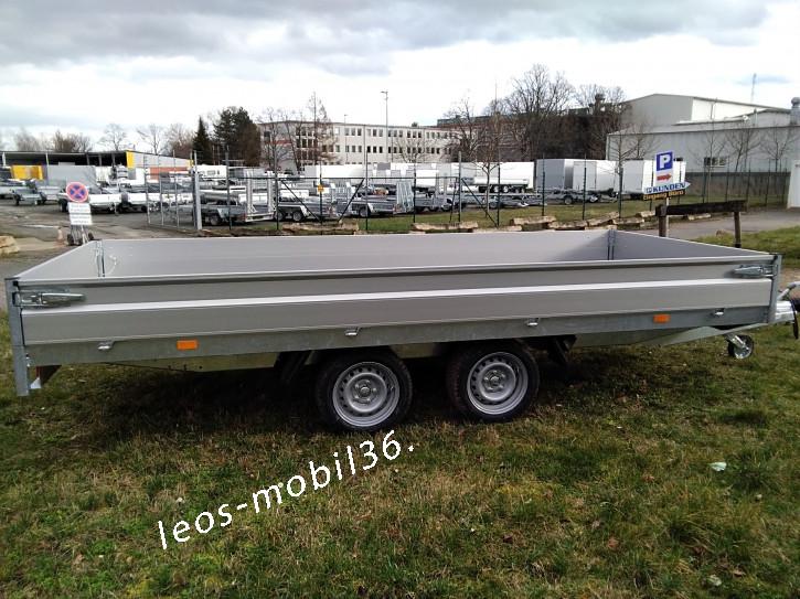 Hapert AZURE H-2 Niederfahrwerk Hochlader Überlader 2700 kg 4.05 x 1.80