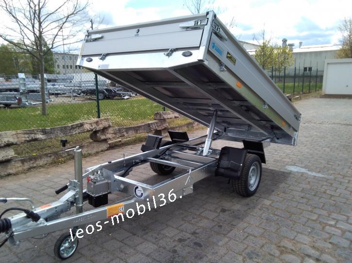 Hapert Cobalt HB-1 3,05x1,60 1800kg Rückwärtskipper Heckkipper Stahlboden 13 Zoll Reifen