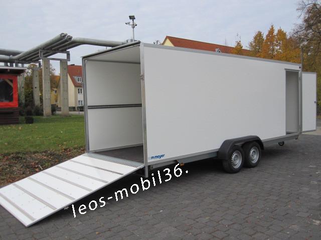 WM Meyer Koffer AZ 2750/200 (S40) 5.00x2.00x2.05 Auffahrklappe Heckrampe Heckklappe 2700 kg