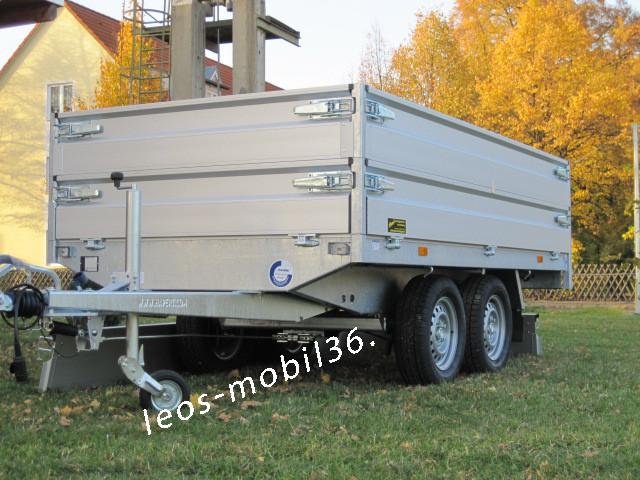 Hapert AZURE H 2 AL 2000 Hochlader Überlader 2000 kg 3,05 x 1,60 ALU-Bordwände alle 4 Seiten Abnehmbar