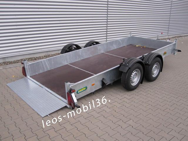 Unsinn GTAS 2625-14-1500 2-achser 2600kg Absenkanhänger Senklift 2,56 x 1,50 x 0,35