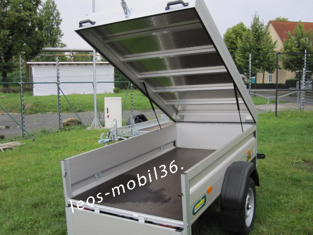 Unsinn K 825-13-1400 ALU- Deckel 750kg  2.50 x 1.40 ungebremst Stützrad