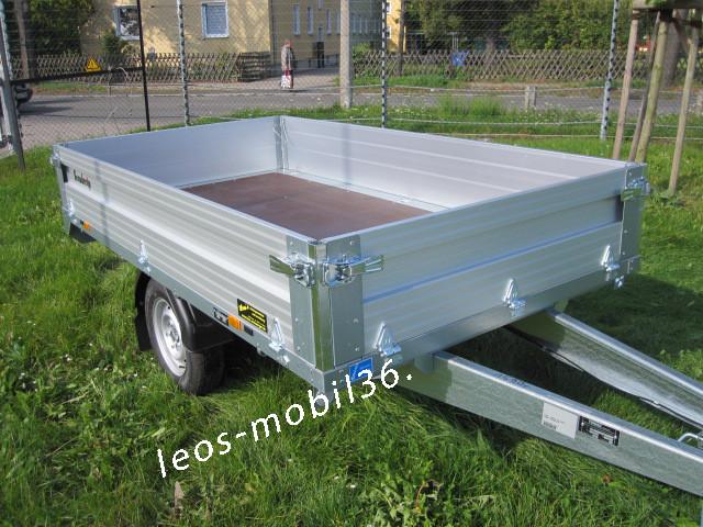 Brenderup 4260 B ALU Hochlader Überlader 1200kg 2.59x1.43 Stützrad -NEUES MODELL-
