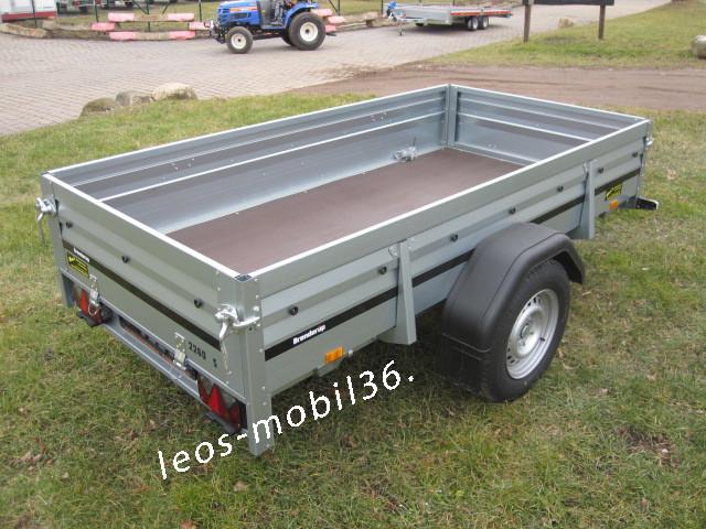 Brenderup 2260 S Stützrad Frontklappe 2.58 x 1.28 1300kg