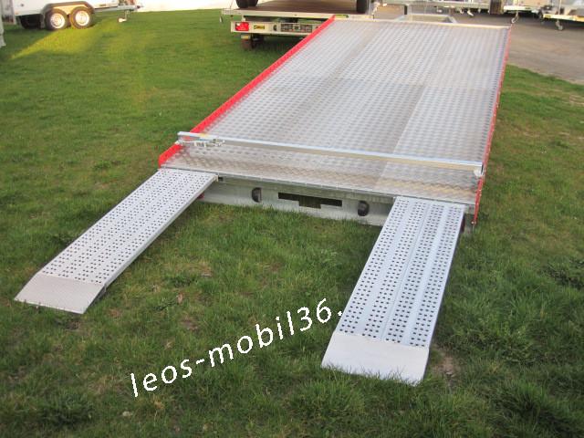 Unsinn AHK 2643-10-2070 2600 kg 4.30 x 2.07 kippbare flache Auffahrt Easyload Seilwinde Transporter Trailer