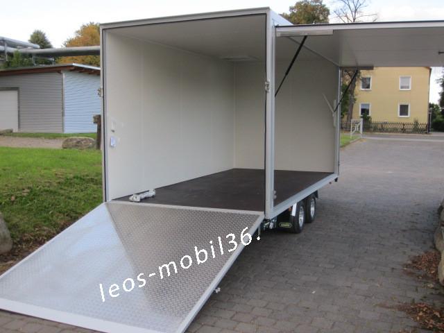 Unsinn PK 3042-10-2040 Koffer Rampe Verkaufsklappe Marktanhänger CC Blumen Transport Oldtimer Rennsport