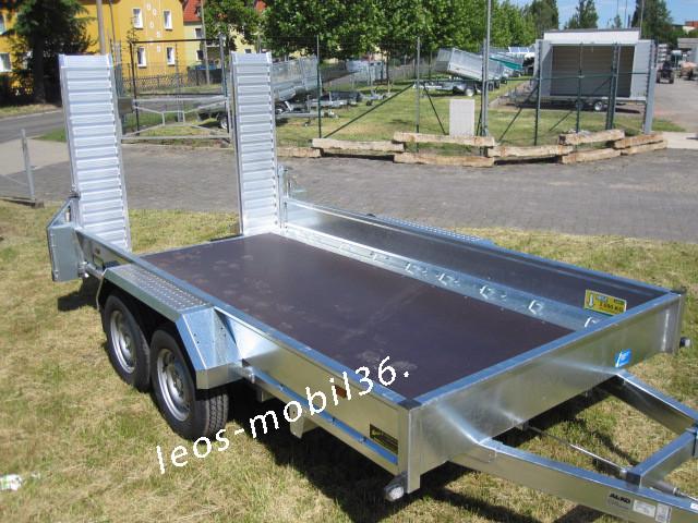 Unsinn UBA 3030-14-1600 3000 kg Bagger Baumaschinen 3.06x1.60 Minibagger Maschinentransporter