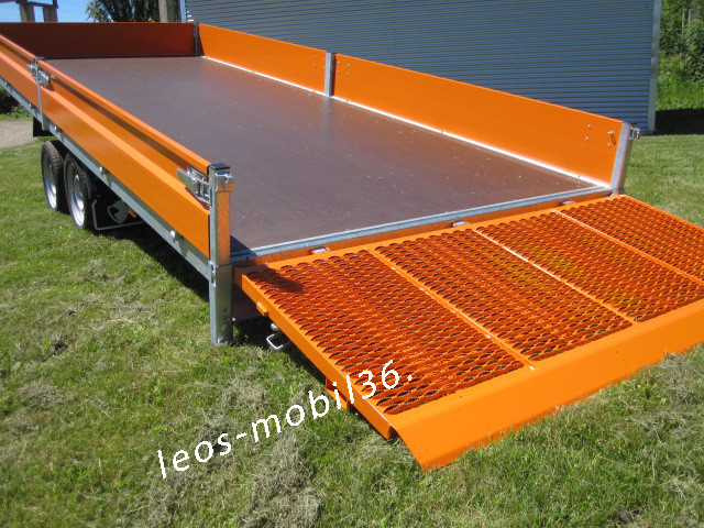 Hapert INDIGO HT-2 Kippbare Ladefläche BAU RAL 2011 3500kg pulverbeschichtet Universaltransporter Multi Multitransporter 5.05 x 2.00 x 0.30 Stahl überfahrwand