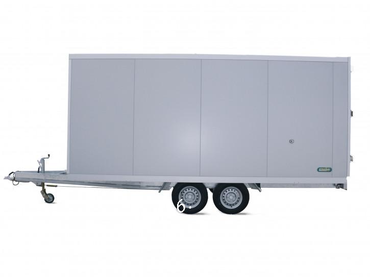 Unsinn PK 2030-13-1750 2000 kg Thermo Sandwich Isolierung 40 mm Kofferanhänger 3.06 x 1.75 x 1.90 Tiefrahmen/Türen/Rampe/Überfahrwand/Verkaufsklappe