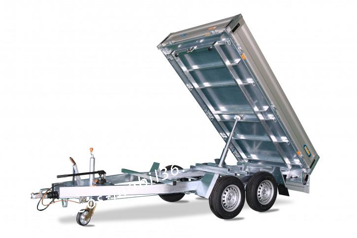 UNSINN WEB 32 Tandem Hochlader Rückwärtskipper/Heckkipper 2.76 x 1.55 2600kg Stahlboden mit ALU-Bordwände