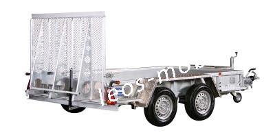 Variant 2718 M3 2700 kg Blattfeder 3.00 x 180 Bagger Baumaschinen Minibagger Maschinentransporter