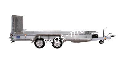 Variant 3518 M4 3500 kg Blattfeder 4.00 x 1.80 Bagger Baumaschinen Baggeranhänger