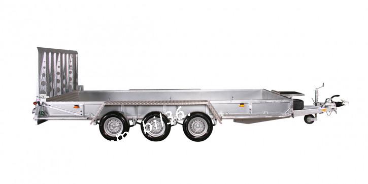 Variant 3520 M5 3500 kg Blattfeder 4.60 x 1.98 Bagger Baumaschinen