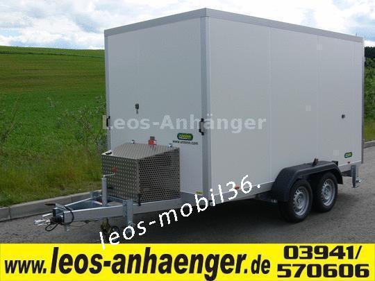 Unsinn Tiefkühlanhänger KIK 2625-14-1350 bis -18°C TK 100 mm Wändstärke 2.56x1.35x1.90 inkl.Kühlaggregat Kühler 2600 kg Kühlkoffer Kühlanhänger (Fahrtkühlung)