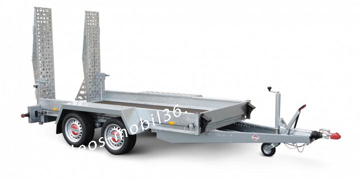 Stema BMAT O2 27-30-14.2 2700 kg 3.01 x 1.40 Bagger Baumaschinen Baggeranhänger Minibagger Maschienentransporter