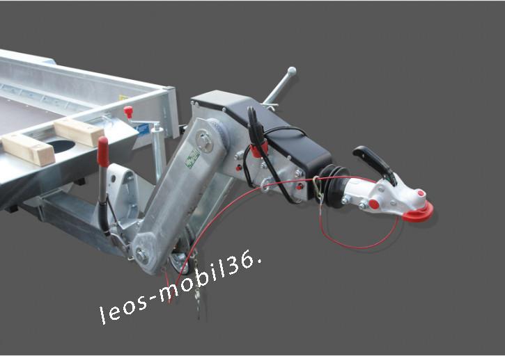 Unsinn UBA 3536-14-1800 3500 kg HV Höhenverstellbar Deichsel Bagger Baumaschinen 3.66x1.80