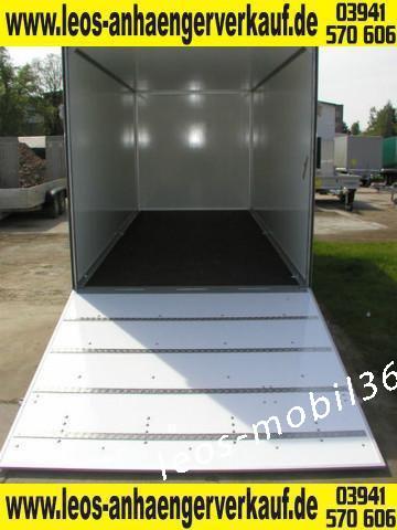 WM Meyer Koffer AZ 2030/151 (S 35) 2000kg Auffahrklappe Heckrampe Überfahrwand 3.01x1.51x1.85