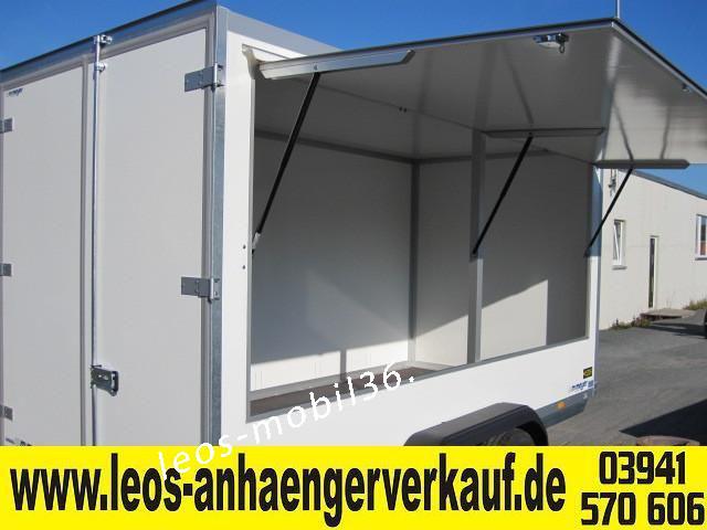 WM Meyer Koffer AZ 2740/185 (Serie 35) 4.01x1.85x2.05 Verkaufsanhänger Imbiss Marktanhänger