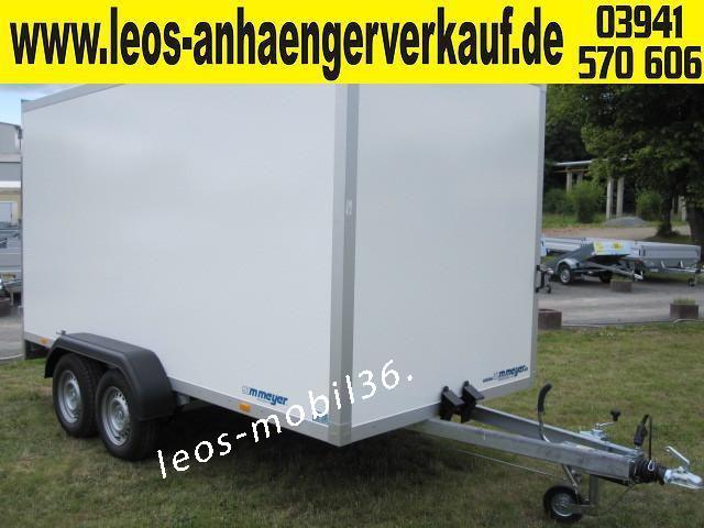 WM Meyer Koffer AZ 2740/185 (Serie 35) 4.01x1.85x2.05 2700 kg mit Hecküren 270 grad umschlagbar