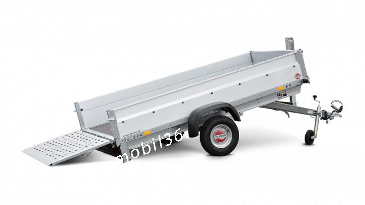 STP O1 7.5-25-13.1 REX 25 Kippbare Ladefläche 750 kg 2.51 x 1.28 Überfahrwand