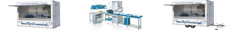 Mobile Geschirrspülstationen, Spülcontainer, Spülanhänger