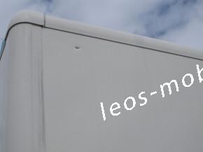 Leos-Anhänger LBK 354024 Reisebus Anhänger, Busanhänger, Bus Fahrschulanhänger, Innenlänge 4.05 Gesamtlänge 6.00 Nightliner Packwagen Kofferanhänger mit Höhenverstellbare Zugdeichsel 3500kg