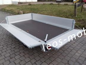 Brenderup 4260 AB ALU-Bordwände Hochlader Überlader 1200kg 2.59 x 1.43 Stützrad