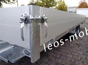 Leo`s LM36NGB306021 Glasbockanhänger Fenstertransportanhänger Bauelementeanhänger C-Schiene C-Profile 80/40 3000 kg 6.04x2.10