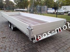 Leo`s LM36NGB304020 Glasbockanhänger Fenstertransportanhänger Bauelementeanhänger C-Schiene C-Profile 80/40 3000 kg 4.04x2.00