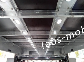 Leo`s LM36NGB305021 Glasbockanhänger Fenstertransportanhänger Bauelementeanhänger C-Schiene C-Profile 80/40 3000 kg 5.04x2.10