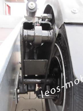 Unsinn GTAS 3536-14-1500 2-achser 3500kg Absenkanhänger Senklift 3,66 x 1,50 x 0,35