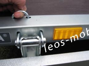"""Stema SHP 01 7.5-21-13.1 10"""" Stützrad 2.10 x 1.28 x 0.35 750kg Stahl-Bordwände Hochlader ungebremst Netzhaken"""