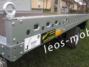 Stema CARRIER XL SHA 02 15-30-18.1 inkl. 100 km/h geschlossene Ladefläche 1500 kg Plattform 3.01 x 1.83 inkl.2x Auffahrschienen Trailer Autotransporter Hochlader Überlader Smartanhänger